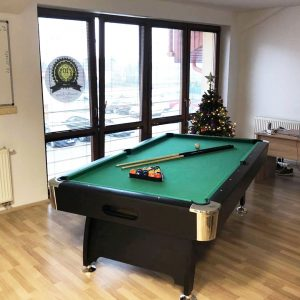 Billiard table in the office