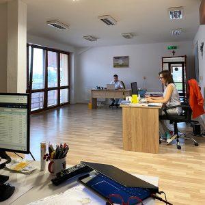 Práca v kancelárii