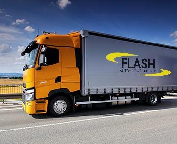 kamión s logom